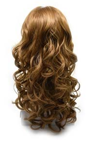 Synthetic wig pictures with hair color LHC-223 B101