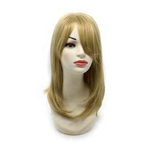 Synthetic wig with color 24b+613c