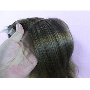 Partial Prosthesis Women's Lace Closure Cover for Androgenetic Alopecia