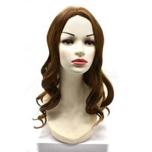 Synthetic wig pictures with color WL1001,10H27 wave like picture hair length 45cm