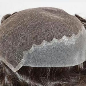 Prosthesis Lace Hair With Horseshoe in PU