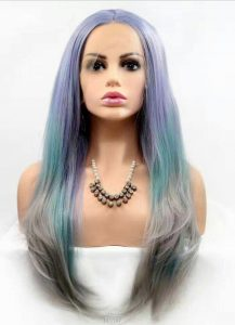 Female Synthetic hair of new generation
