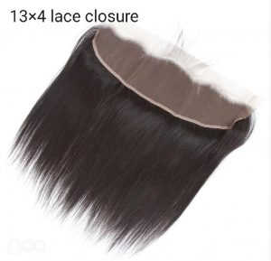 Lace closure 30 cm x 14 cm Indian hair