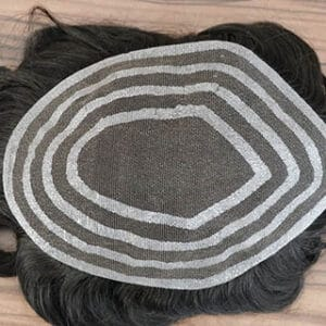 Hairsystem Lace With PU Lines