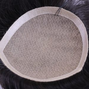 Partial Female Hairsystem with Stripe