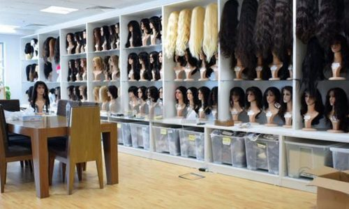 hair system factory and hairdresser