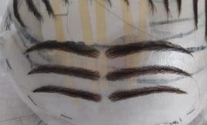 prosthetic eyebrows for men